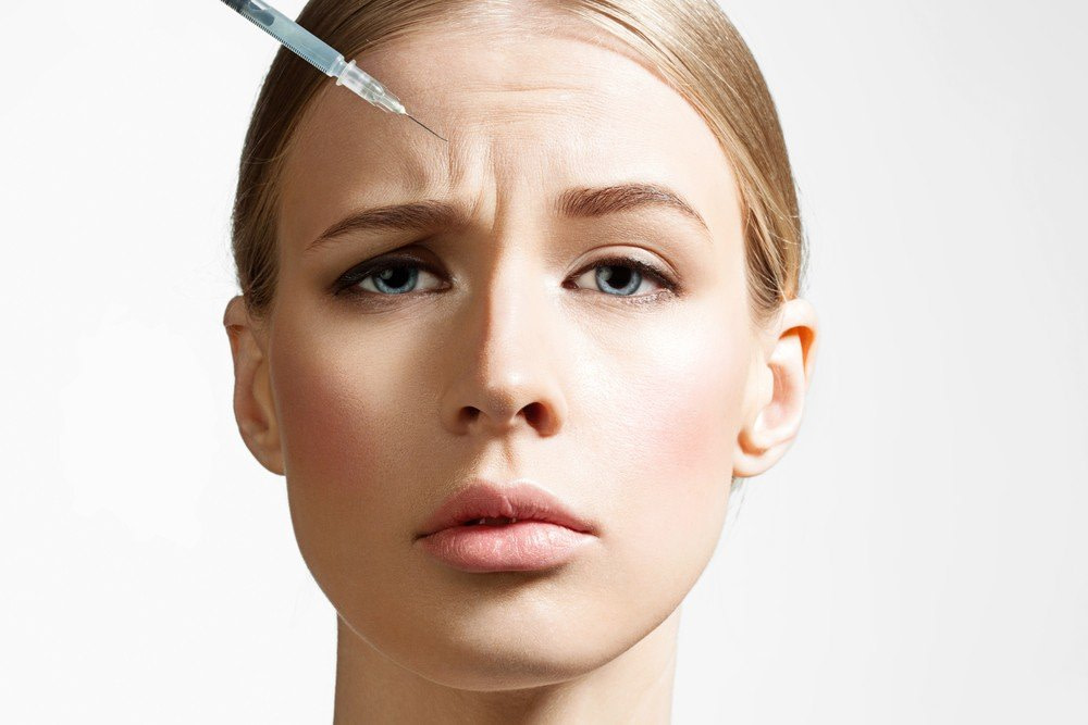 Vertical Frown Lines Botox Treatment 1