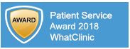 EXCELLENCE MEDICAL RATED BEST FOR SERVICE BY WHATCLINIC
